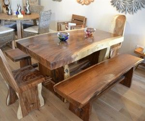 Home Design: Stunning Ideas Wooden Dining Table Designs Natural .