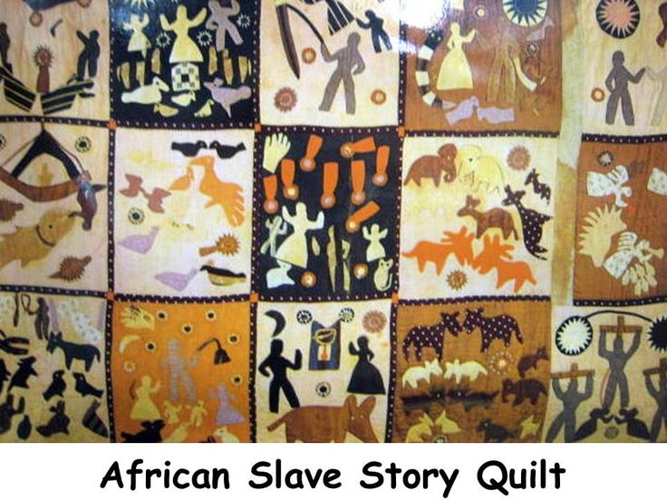 Quilt Patterns Slaves Used : Slave story quilt Civil War-Slave Life Pinterest Folk art, Shape and Quilt