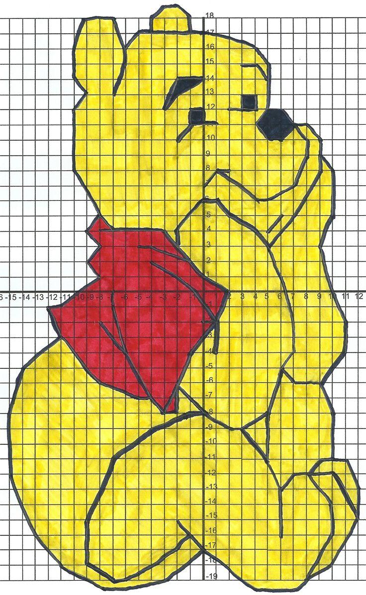 winnie the pooh when math happens mif 9 coordinate