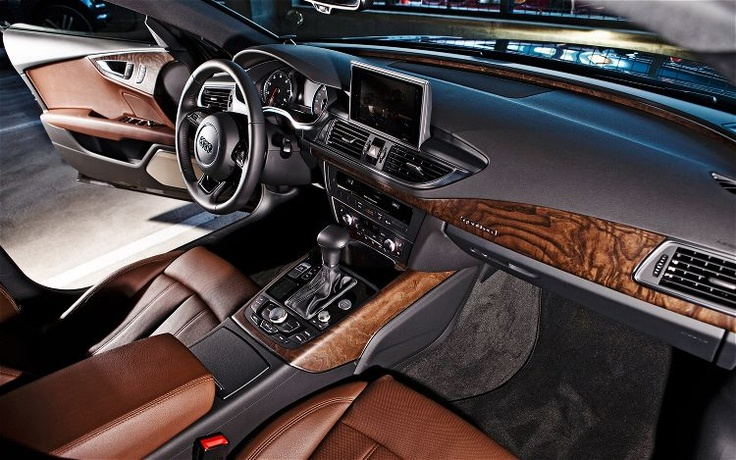 2012 Audi A7 - interior is beautifully crafted