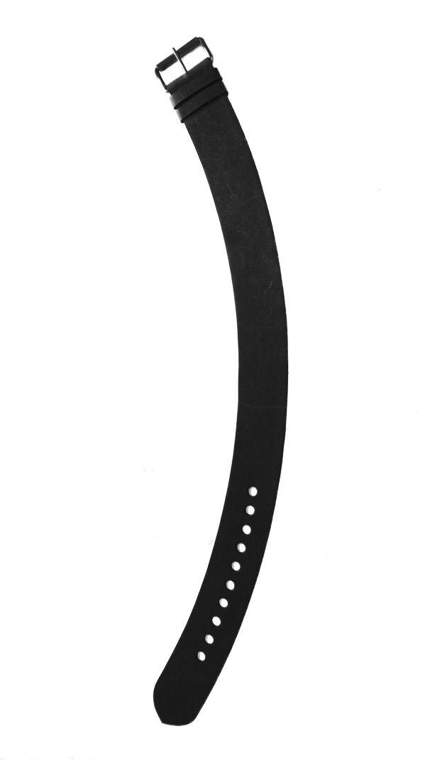 Basic Black : Black wide leather belt | Philosophy clothing - designer clothing for women on the move