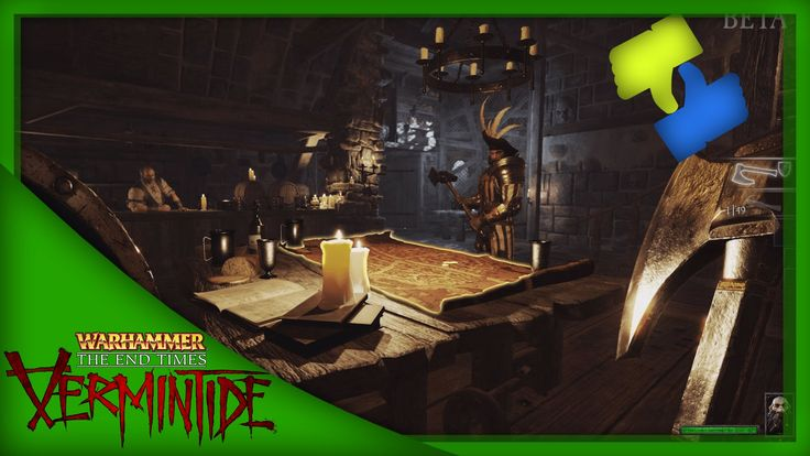 The Swedish inquisition -  Warhammer: End Times - Vermintide
