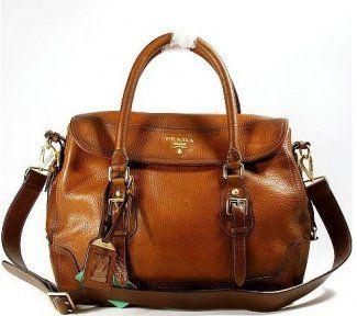 Prada Leather Handbag - great bag for year round usage.