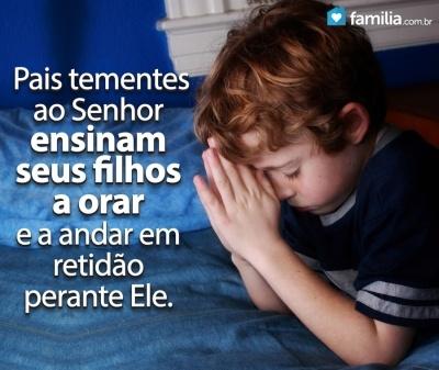 Familia.com.br | As vantagens de ensinarmos nossos filhos a orar