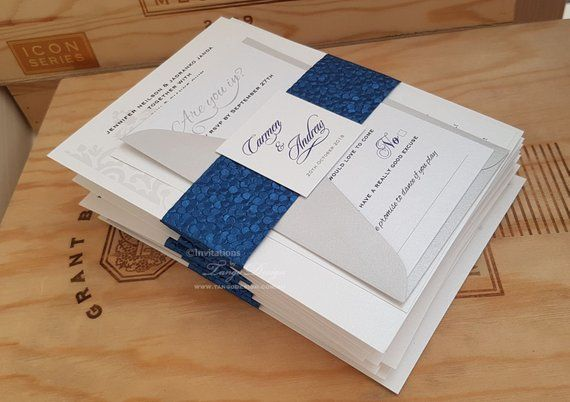 2020 Wedding Trends Best Invitation Value Kit With 3 Cards In A Set Custom Made Marriage Invitation Cards In Colors Blue Gold And Pink Wedding Trends Marriage Invitation Card Making Wedding Invitations
