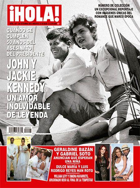 Esta semana en ¡HOLA!: John y Jackie Kennedy, un amor inolvidable de leyenda