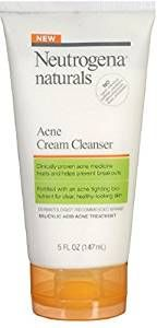 Neutrogena Naturals Acne Cream Cleanser 5 oz (Pack of 5) Review