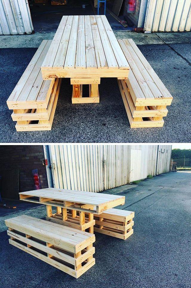 43 Sharp Wood Pallet Side Table Ideas Pallet Furniture Table Pallet Furniture Outdoor Pallet Patio Furniture