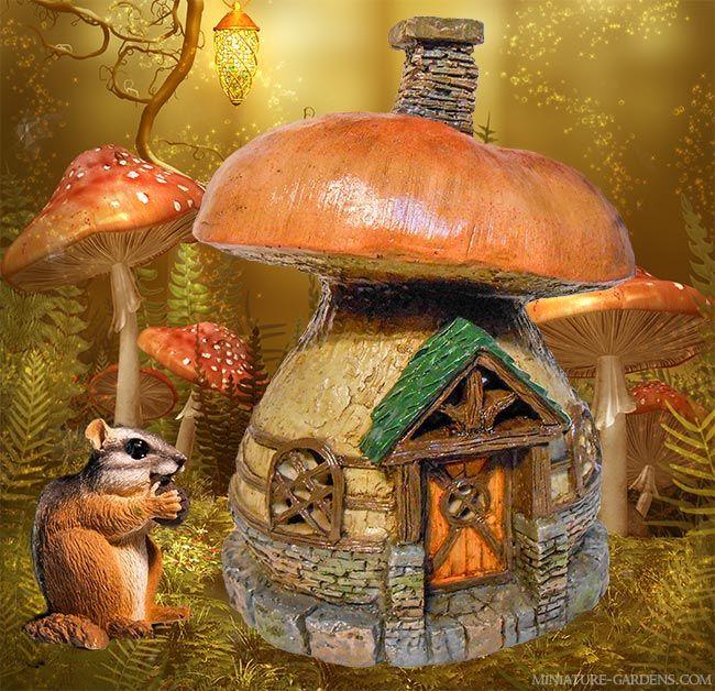 Gnome Garden: A Miniature Mushroom Fairy House To Enchant Your Mini