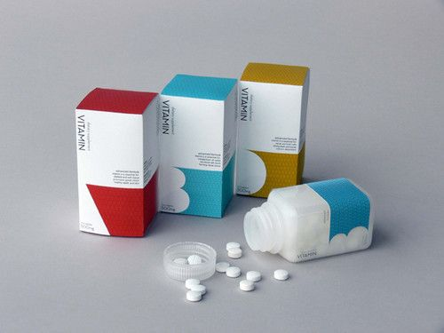 vitamin packaging on the behance network