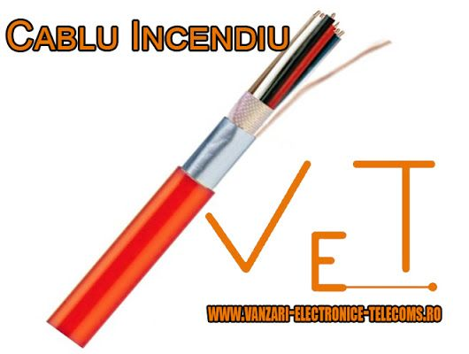 Cablul de incendiu este utilizat la comunicatii interne. Ecranul acestuia este proiectat pentru protejarea impotriva interferentelor electromagnetice. Acesta este atat normal cat si cu rezistenta la propagarea flacarii. Descoperiti mai multe informatii despre specificatiile tehnice si preturi ale cablurilor de incendiu pe http://www.vanzari-electronice-telecoms.ro/produs/645/cablu-incendiu.html
