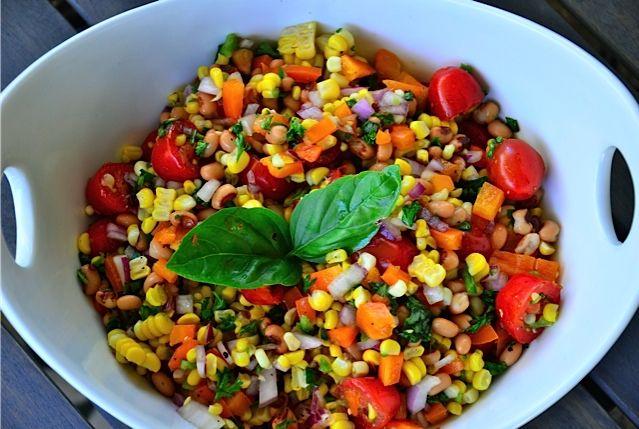 Bush's Blackeye Peas Fresh Corn Salad | Recipe | Summer ...