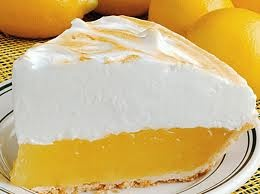 my mom made me a lemon meringue pie for a birthday cake each year - at my request. Hers was extra tart and so good.