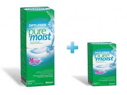 PUREMOIST 300+60ml - 9.50€ - Προσφορά 60ml επιπλέον Δώρο!! Καθαριστικό μαλακών φακών επαφής με τεχνολογία ενυδάτωσης HydraGlyde Moisture Matrix.