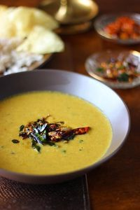 Mathanga Erissery is pureed pumpkin curry from Kerala with fresh and roasted coconut. There are very few things I enjoy more than the elaborate Onam Sadhya t...