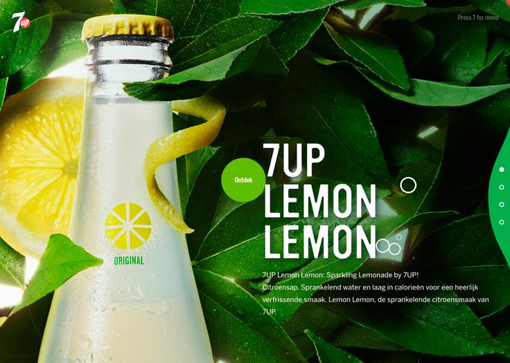 7UP - Awwwards Site Of The Day - Awwwards