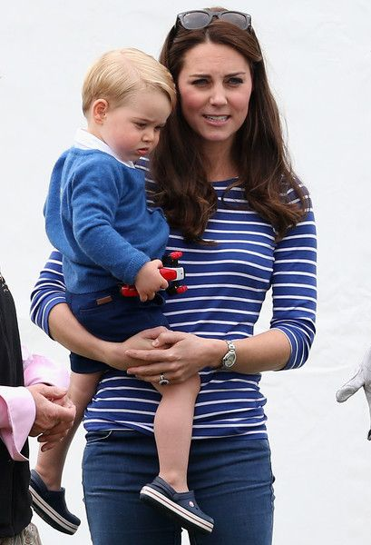 Prince George Photos - The Duke of Cambridge and Prince Harry Play in Gigaset Charity Polo Match - Zimbio 55 6/14/15