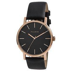 Pilgrim Damen-Armbanduhr Analog Quarz Leder 701444103 Pilgrim http://www.amazon.de/dp/B00QTOTT4E/ref=cm_sw_r_pi_dp_tneNvb00YJ8PR