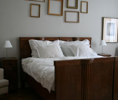Bajcsy 's Master Bedroom with king size bed