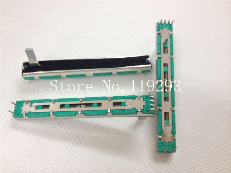 [BELLA]7.5 cm 75MM  A10K  Original DJM 400 500 600 800 mixer fader volume potentiometer--10PCS/LOT