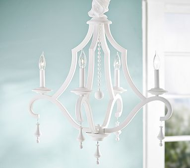 44 best lighting chandeliers pendants sconces etc images on pottery barn kids chandeliers make a beautiful addition to a bedroom or nursery find chandelier lighting and light up the room in style aloadofball Image collections