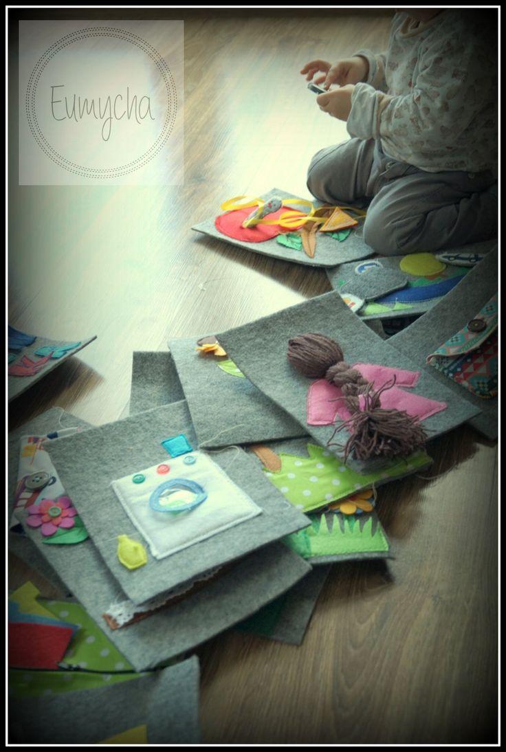 Filcowe książeczki dla maluszków | Robótkowy Świat Eumychy
