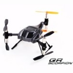 Walkera QR SCORPION Six Axis Gyroscope RC Helicopter (Grey)