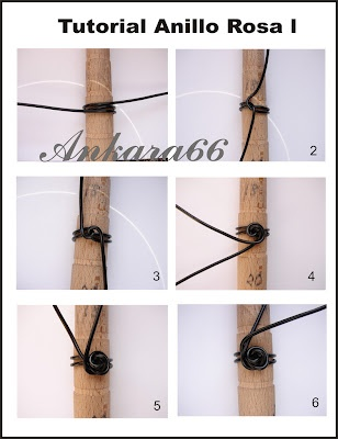 anillo: Wire Jewelry, Tutorials, Roses, Anillo Rosa, Ring Tutorial, Rose Rings