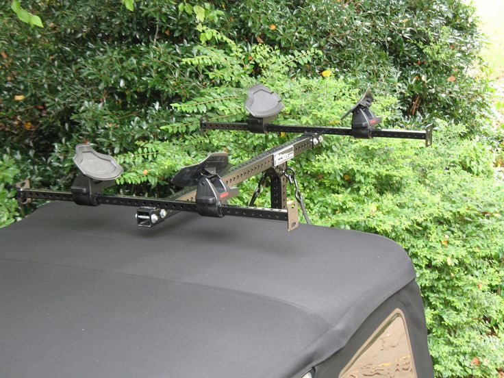 Mission Rack Jeep Kayak rack for soft top jeep