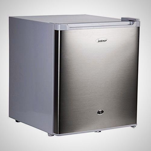 Kitchen Counter Top Freezer 35L Stainless Steel Reversible Lockable Door Storage
