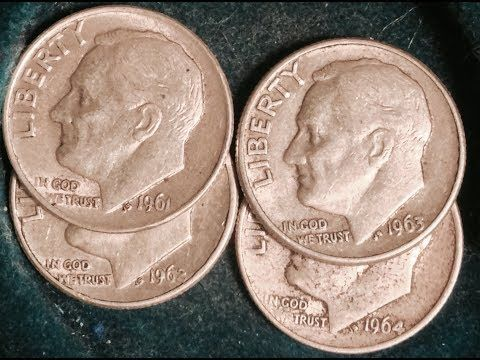Incredible 1968 Roosevelt Dime Errors Most Rare Have Sold For 32000