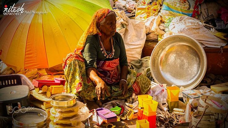 Sales Women by Ritesh Patel on 500px