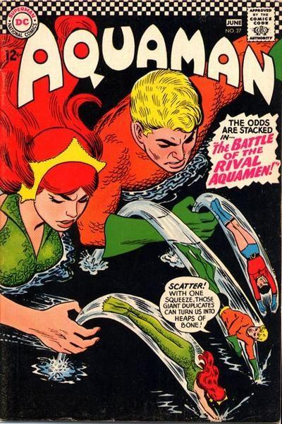 Cover for Aquaman Vol. 1 #27 (1966)