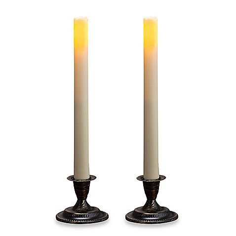 Buy candle impressions flameless taper candles from bed bath beyond