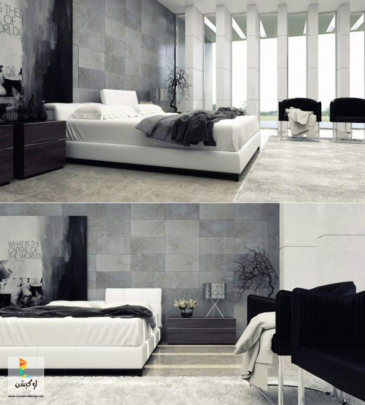 Space Saving Ideas Modern Master Bedroom Interior Design Small