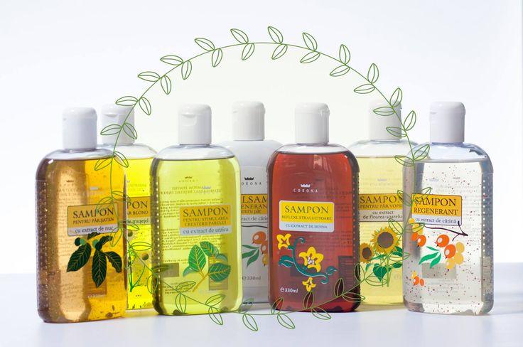 Ați încercat șampoanele de la Corona?  Din extracte naturale pentru un păr sănătos și plin de viață!
