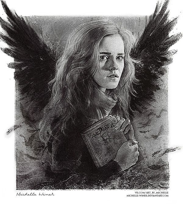 Hermione Granger and The Tale of the Three Brother by Michelle-Winer.deviantart.com on @DeviantArt