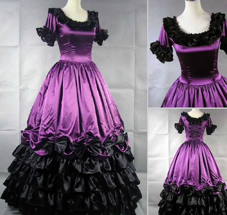 http://www.lovesgo.com/Lolita-Lolita-Victorian-gothic-purple-noble-ball-dress-V-17-p1277.html: Ball Gowns, Gothic, Lolita Dresses, Wedding, Civil War, Shorts Sleeve, Victorian Dresses, Prom Dresses, Ball Dresses