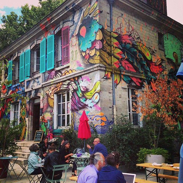 Le Pavillon des Canaux, au bout du Canal de l'Ourcq #Paris19 #PEAV
