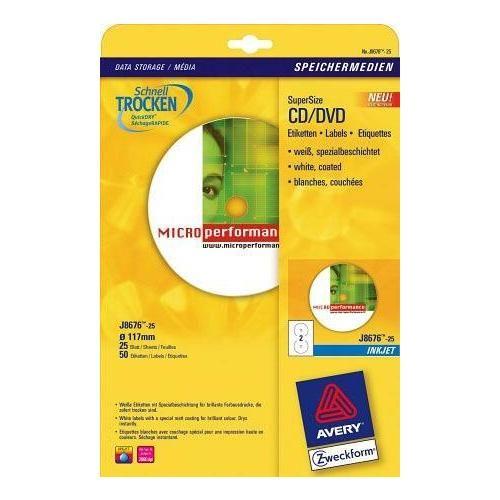 Prezzi e Sconti: #Avery etichette bianche opache cd dvd no  ad Euro 15.99 in #Avery #Informatica consumabili