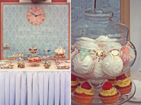 Alice in wonderland wedding - свадьба в стиле Алиса в стране чудес - от www.love-letter.ru
