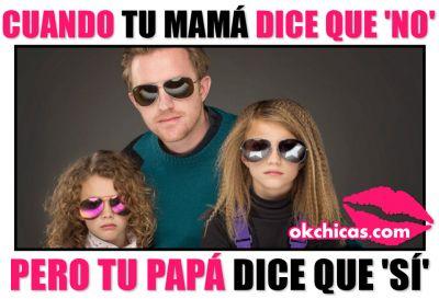 Meme okchicas cuando tu mamá te dice que no