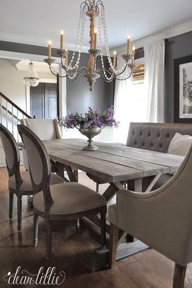 Dining Room With Chandelier: 17 Best Ideas About Cozy Dining Rooms On Pinterest