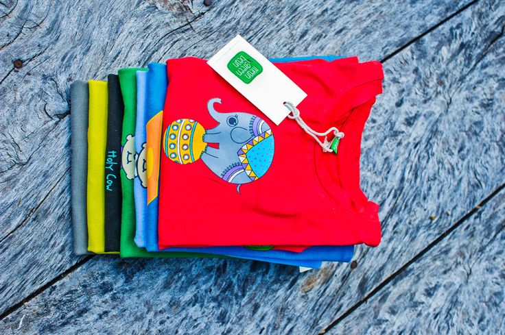 Colours in Organic Cotton T-Shirts