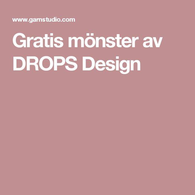Gratis mönster av DROPS Design