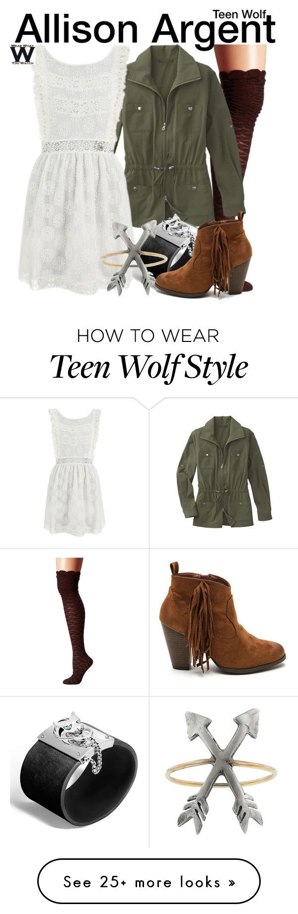 """Teen Wolf"" by wearwhatyouwatch on Polyvore featuring M&F Western, TravelSmith, MINKPINK, John Hardy, Workhorse, television and wearwhatyouwatch"