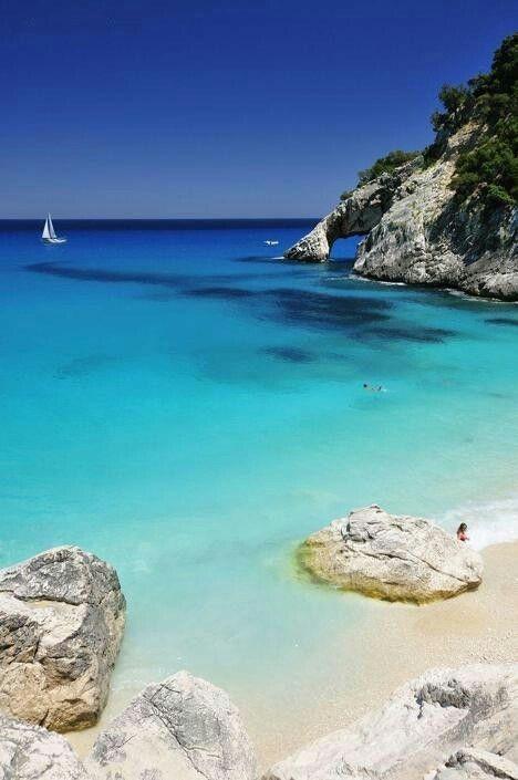 Emmy DE * Cala Goloritze, Sardinia
