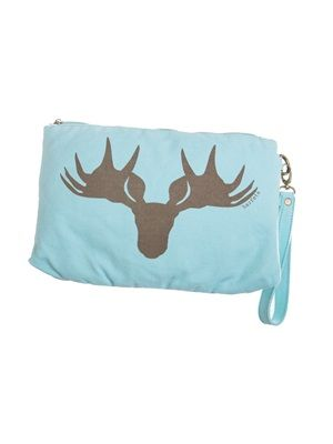 Barfota spring/summer 2014 Toilet bag canvas moose www.barfota.no
