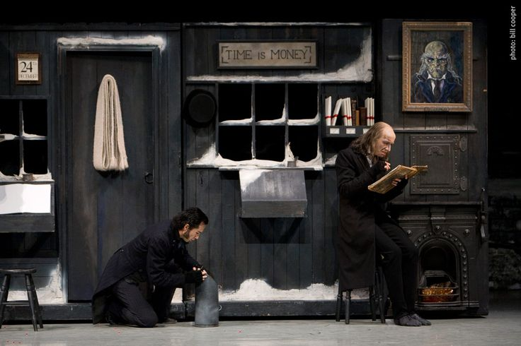 simple theatre set designs for A Christmas Carol - Google Search