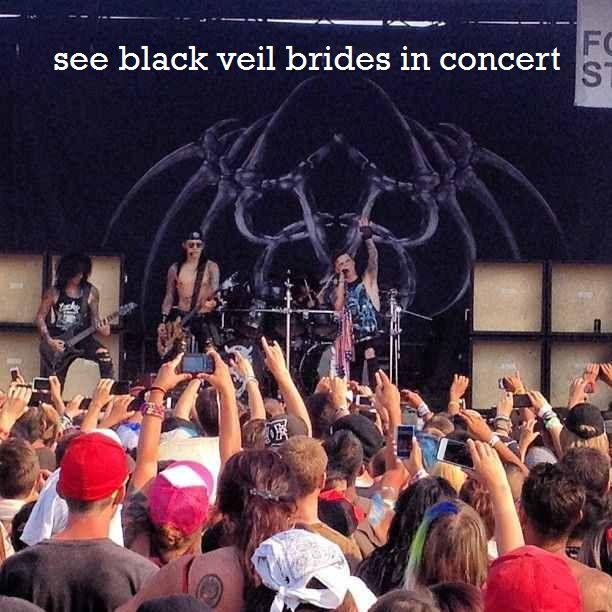 Love To Do This With My 2 Best Friends I Am For Warped Tour So That Will Be Done On My Bucket List Black Veil Brides Pinterest Black Veil Brides